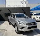 Foto venta Auto usado Toyota Hilux Cabina Doble SR (2017) color Plata precio $295,000