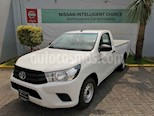 Foto venta Auto usado Toyota Hilux Cabina Sencilla (2019) color Blanco precio $285,000