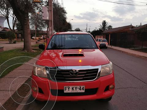 Toyota Hilux 3.0 4X4 Cabina Doble SRV usado (2014) color Rojo precio $14.250.000