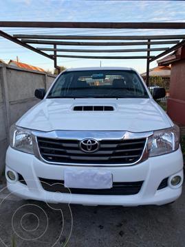 Toyota Hilux 2.5 4X2 Cabina Doble  usado (2012) color Blanco precio $12.500.000