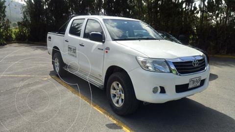 Toyota Hilux 3.0L 4x4 DC Diesel  usado (2013) color Blanco precio $69.000.000
