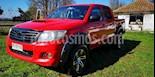 Toyota Hilux DLX 2.5 4X4 Cabina Doble usado (2015) color Rojo precio $11.000.000