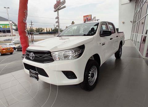 Toyota Hilux Cabina Doble Diesel 4X4 usado (2020) color Blanco precio $469,000