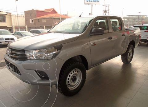 Toyota Hilux Cabina Doble Diesel 4X4 usado (2020) color Gris precio $479,000