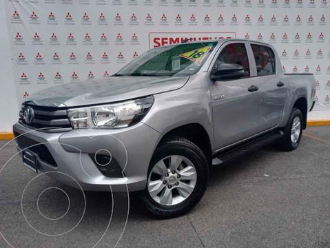foto Toyota Hilux Cabina Doble Base usado (2018) color Gris precio $360,000