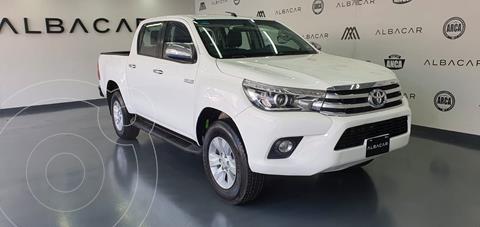 Toyota Hilux Cabina Doble Diesel 4X4 Aut usado (2018) color Blanco precio $449,900
