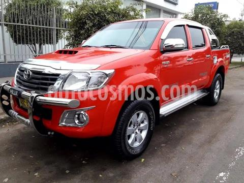 Toyota Hilux 4x4 C-D  GX Gas usado (2014) color Rojo precio u$s7,200