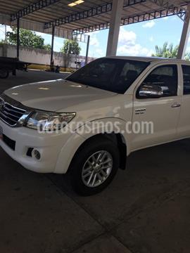 Toyota Hilux Doble Cabina 4.0L 4x4 Aut usado (2013) color Blanco precio BoF30.000