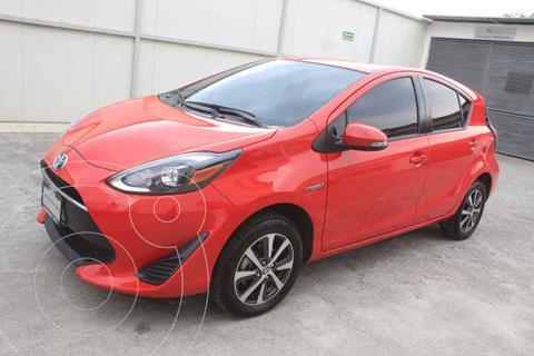 Toyota Prius C 1.5L usado (2018) color Rojo precio $259,000