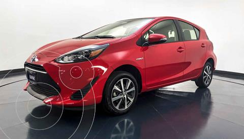 Toyota Prius C 1.5L usado (2018) color Rojo precio $282,999