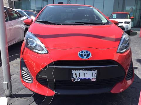 Toyota Prius C 1.5L usado (2018) color Rojo precio $278,000
