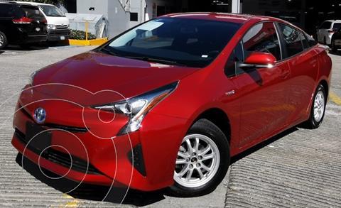 Toyota Prius Premium SR usado (2018) color Rojo financiado en mensualidades(enganche $93,687 mensualidades desde $8,287)