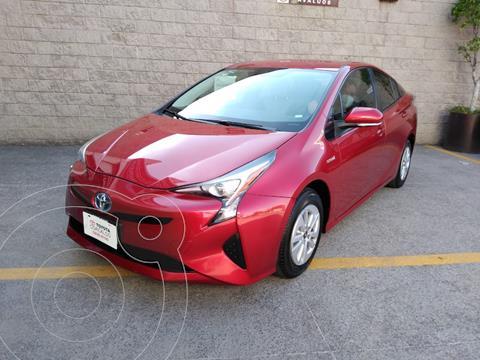 Toyota Prius Premium SR usado (2017) color Rojo precio $295,000