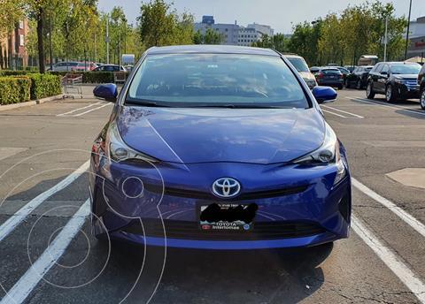 Toyota Prius Premium usado (2016) color Azul precio $259,000