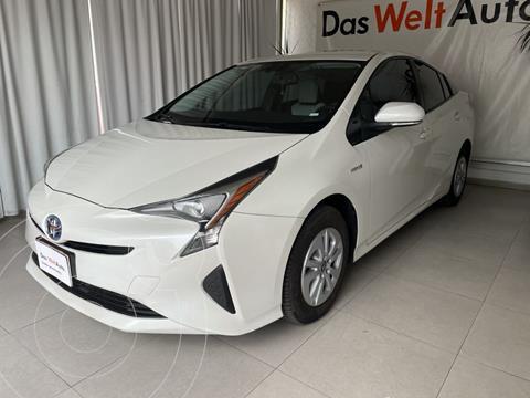 Toyota Prius PREMIUM SR HIBRIDO 5P L4 1.8L QQ AA R15 NAVI CVT usado (2017) color Blanco precio $305,000