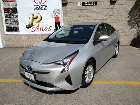 Toyota Prius Premium SR usado (2017) color Plata Dorado precio $295,000