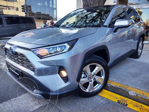 Toyota RAV4 HV 2.5 Limited 4x4 Hibrida usado (2021) color Gris Metalico precio $10.390.000