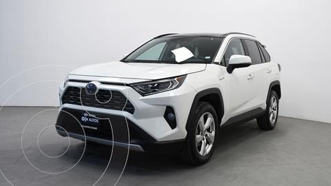 Toyota RAV4 Limited Hybrid  usado (2021) color Blanco precio $604,000