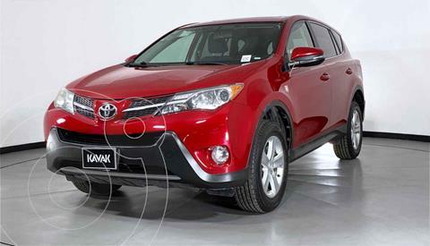 Toyota RAV4 XLE 4WD usado (2013) color Rojo precio $254,999