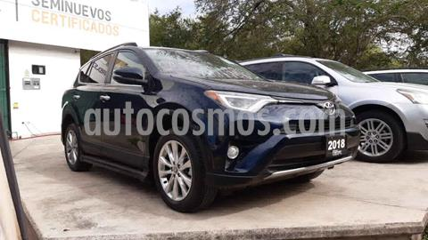 Toyota RAV4 2.4L Limited usado (2018) color Azul precio $420,000