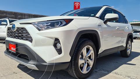 Toyota RAV4 Limited Hybrid  usado (2021) color Blanco Perla precio $684,000