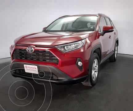 Toyota RAV4 XLE 4WD usado (2020) color Rojo precio $489,000