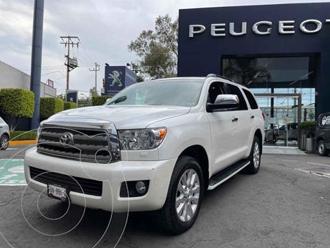Toyota Sequoia Platinum usado (2017) color Blanco precio $589,900