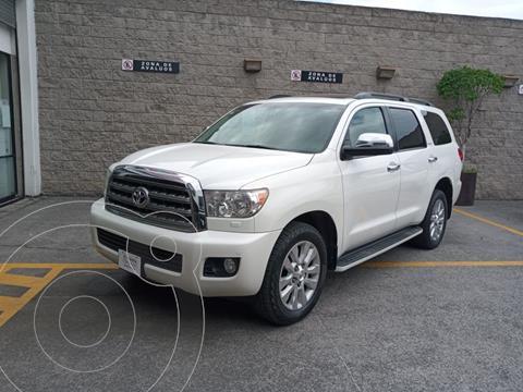 Toyota Sequoia Platinum usado (2017) color Blanco precio $580,000
