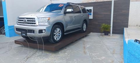 Toyota Sequoia Platinum usado (2017) color Plata Dorado precio $615,000