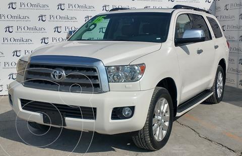 Toyota Sequoia Platinum usado (2015) color Blanco precio $395,000