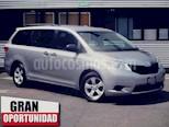 Foto venta Auto usado Toyota Sienna 5p CE V6/3.5 Aut (2017) color Gris precio $365,000