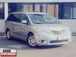 Foto venta Auto usado Toyota Sienna 5p XLE V6/3.5 Aut (2012) color Plata precio $218,000