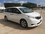 Foto venta Auto usado Toyota Sienna CE 3.3L (2015) color Blanco precio $299,000