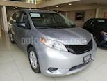 Foto venta Auto usado Toyota Sienna CE 3.5L color Plata precio $395,000