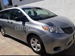 Foto venta Auto Seminuevo Toyota Sienna CE 3.5L (2015) color Plata precio $295,000