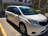 Foto venta Auto usado Toyota Sienna CE 3.5L (2017) color Blanco precio $350,000