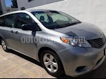 Foto venta Auto usado Toyota Sienna CE 3.5L (2015) color Plata precio $295,000