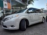 Foto venta Auto usado Toyota Sienna Limited 3.5L (2014) color Blanco precio $360,000