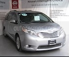 Foto venta Auto usado Toyota Sienna Limited 3.5L (2013) color Plata precio $310,000