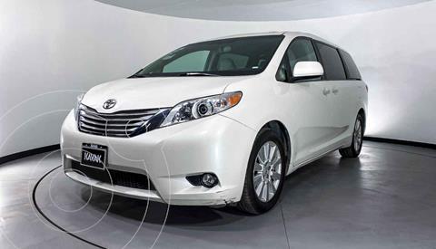 Toyota Sienna CE 3.5L usado (2018) color Blanco precio $409,999