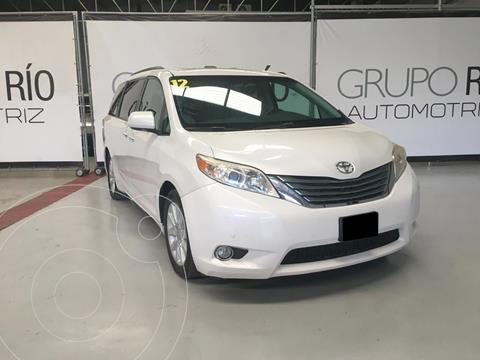 Toyota Sienna Limited 3.5L usado (2012) color Blanco precio $249,000
