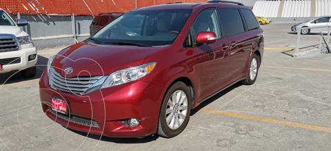 Toyota Sienna Limited usado (2014) color Rojo precio $399,000