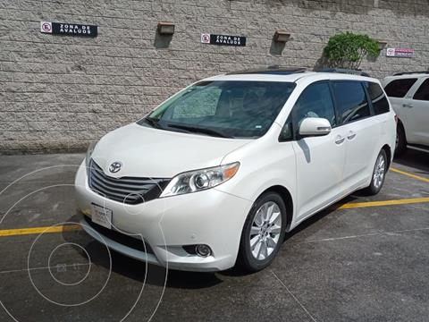 Toyota Sienna Limited 3.5L usado (2013) color Blanco precio $315,000
