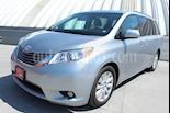 Foto venta Auto usado Toyota Sienna XLE 3.3L Piel color Gris Plata  precio $559,000
