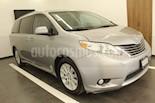 Foto venta Auto usado Toyota Sienna XLE 3.5L Piel (2011) color Gris precio $245,000