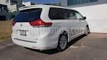 Foto venta Auto usado Toyota Sienna XLE 3.5L Piel (2014) color Blanco precio $350,000