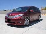 Foto venta Auto usado Toyota Sienna XLE 3.5L Piel (2011) color Rojo Profundo precio $248,000