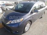 Foto venta Auto usado Toyota Sienna XLE 3.5L color Azul precio $346,000