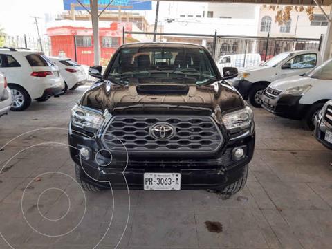 Toyota Tacoma TRD Sport usado (2020) color Negro precio $625,000