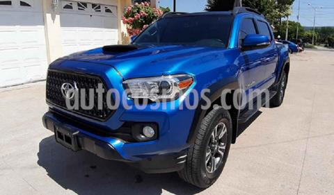 Toyota Tacoma TRD Sport usado (2019) color Azul precio $400,000